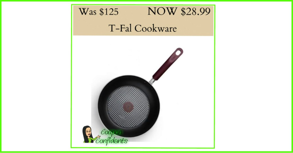 T-Fal Thermo Spot Cookware Pan over 70% OFF!