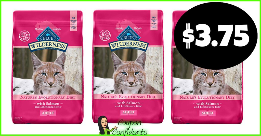 Blue Buffalo Dry Cat Food $3.75 at Publix! (Normally $17.49!)