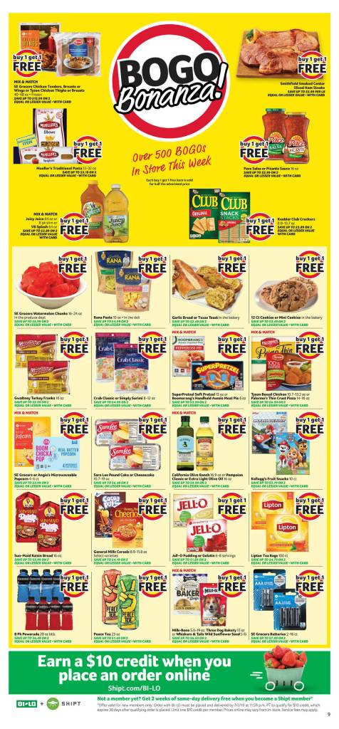 Bilo AD and Deals Too! June 26-July 2