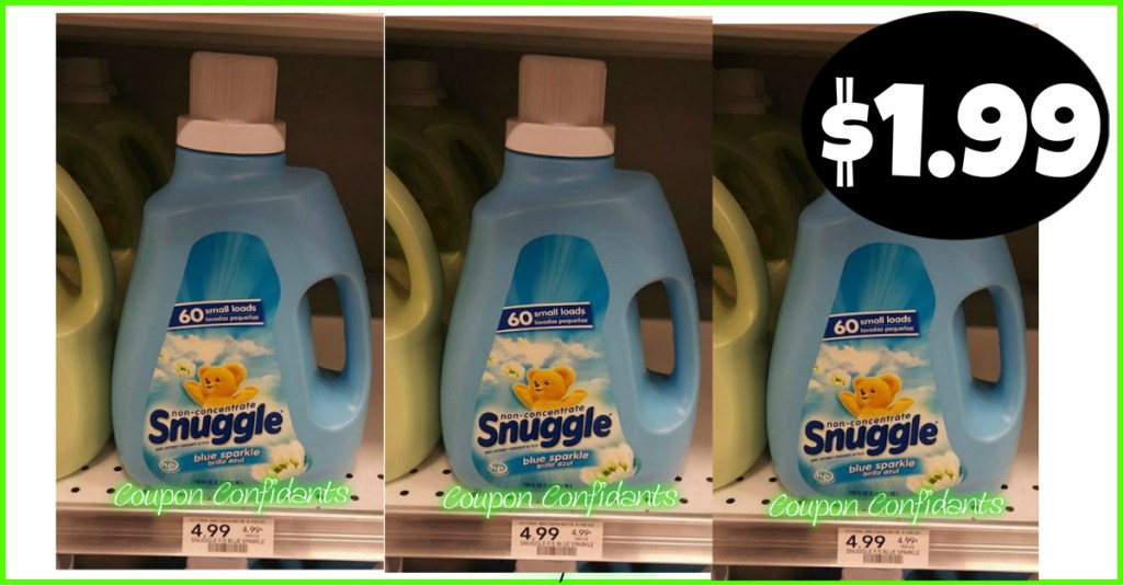 Snuggle 100 oz for $1.99 at Publix! YES!!
