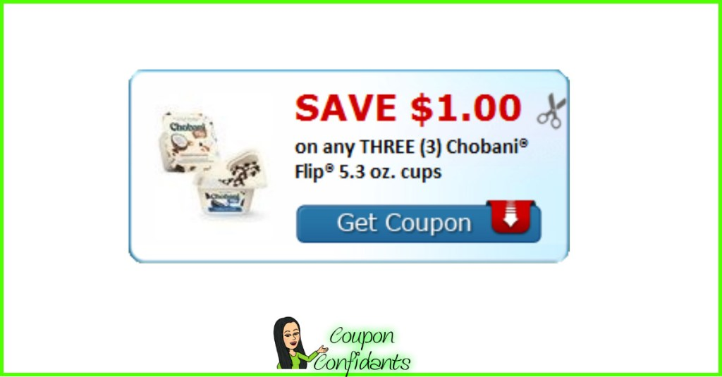Chobani Flips NEW HOT Coupon AND where they are on sale too!