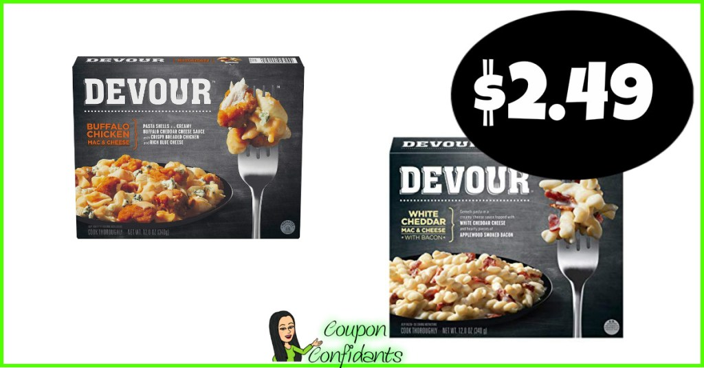 Devour Meals $2.49 at Target!