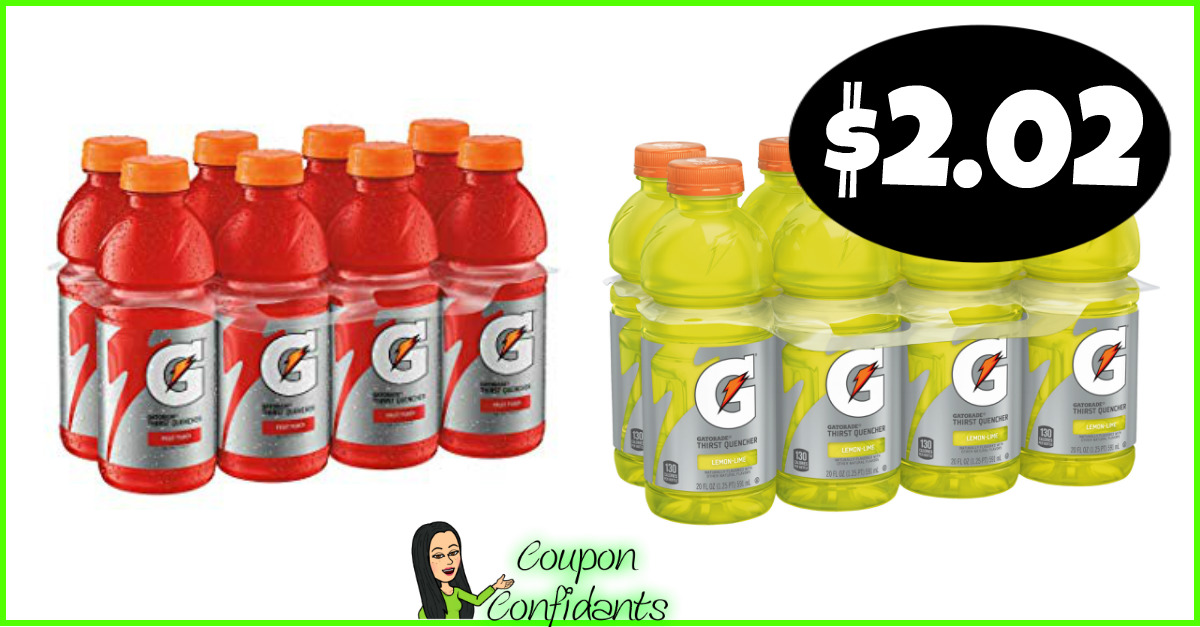 photo relating to Gatorade Coupons Printable named Gatorade 8 packs $2.02 just about every at Publix! ⋆ Coupon Confidants