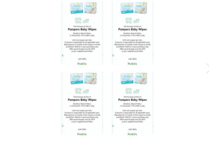 Publix Pampers Coupon!