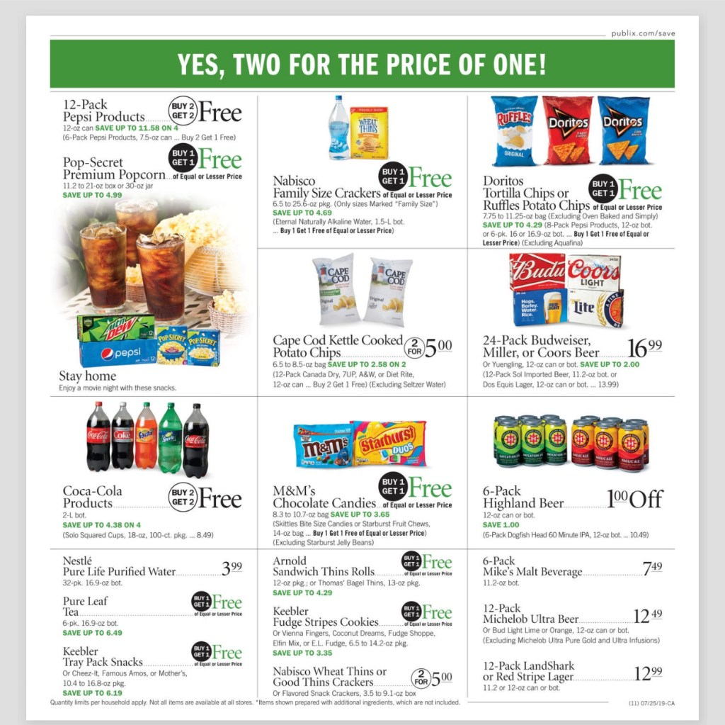 Publix AD and Deals too! July 24-30 or July 25-31