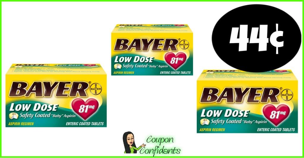 Bayer Aspirin CHEAP at Publix! Time to stock up!