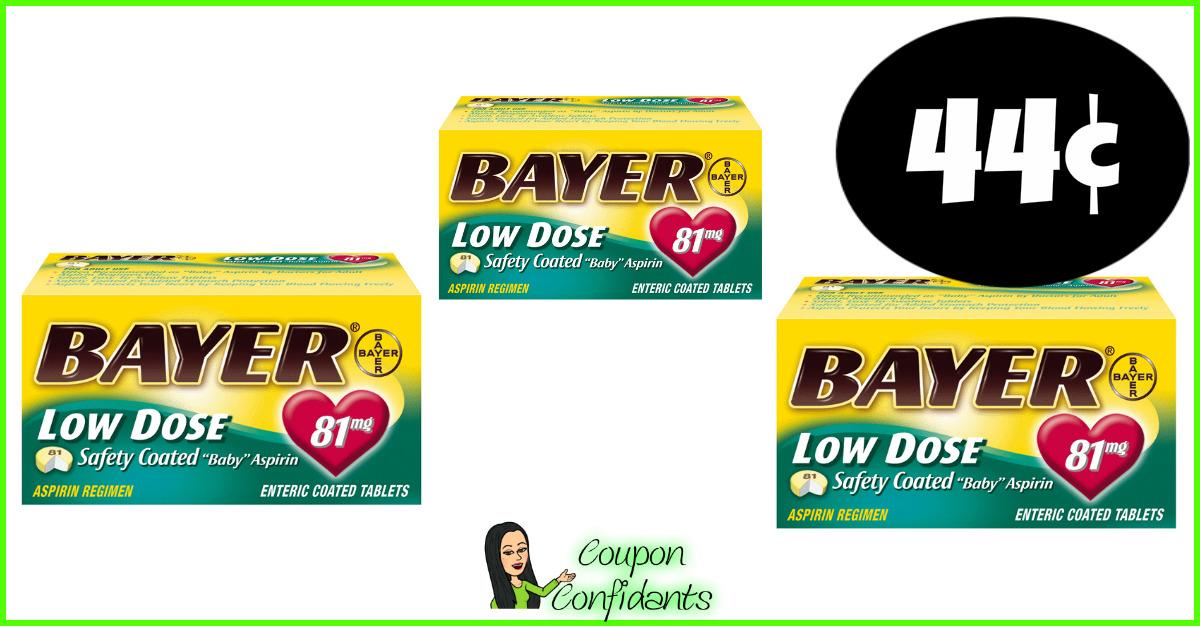 Bayer Aspirin Cheap At Publix Time To Stock Up Coupon Confidants