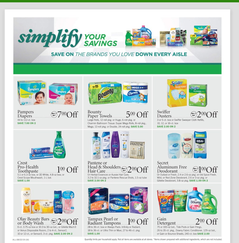 Publix AD and Deals Too!! August 21-27 or 22-28