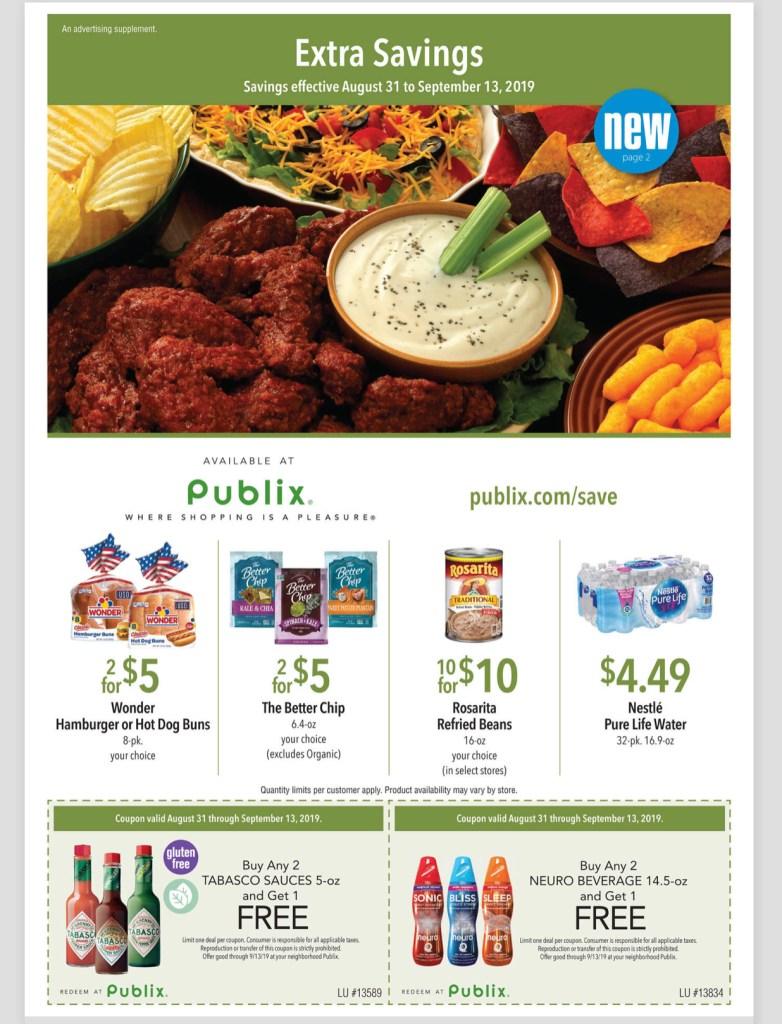 Publix Green Flyer AD 8/31-9/13
