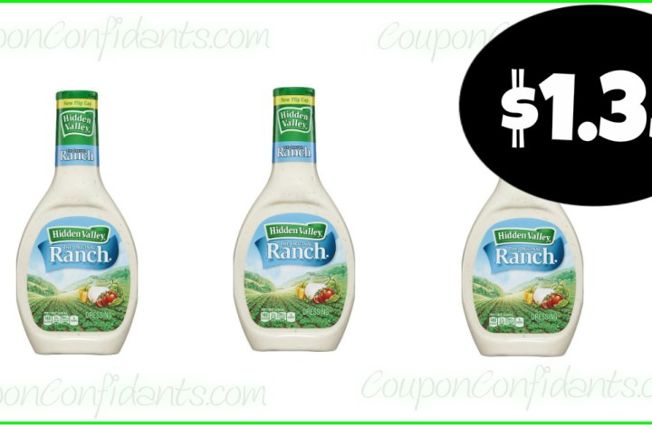 Hidden Valley Ranch only $1.35 at Publix! YES!