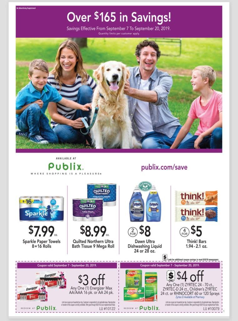Publix Purple Flyer AD 9/7-9/20