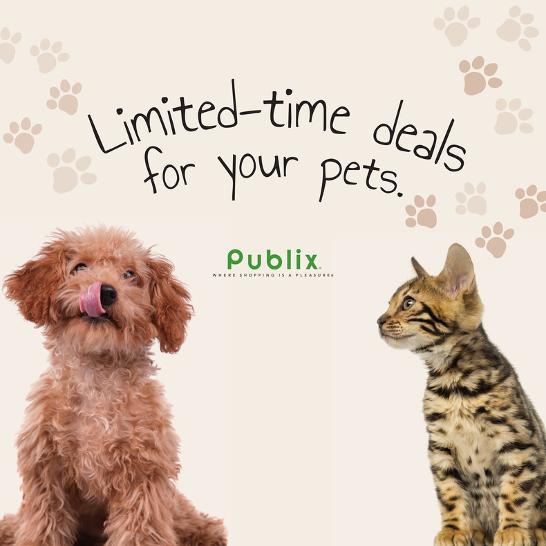 Publix Pet Book! 10/9-10/22 or 10/10-10/23