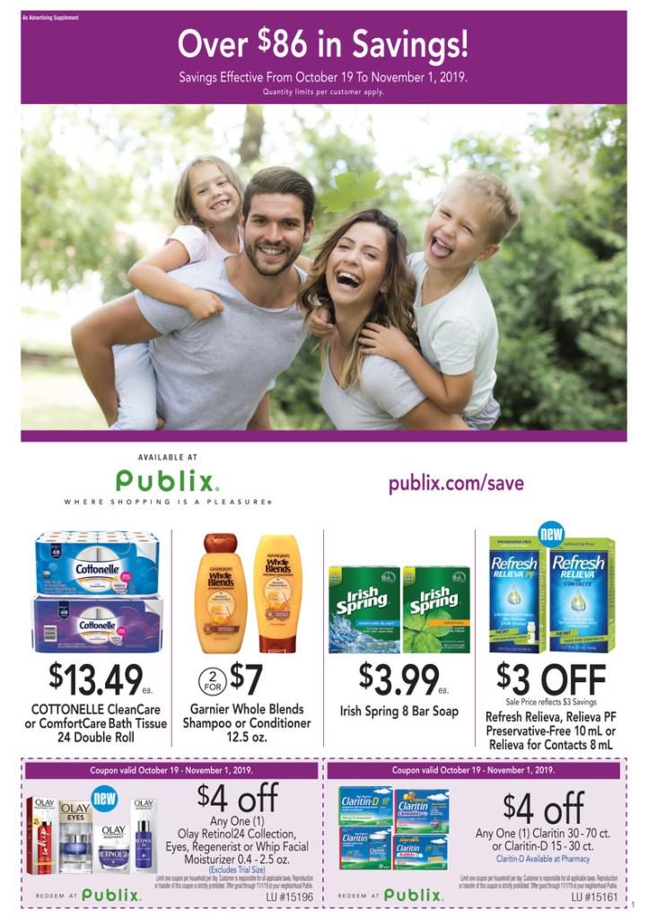 Publix Purple Flyer AD 10/18-11/1