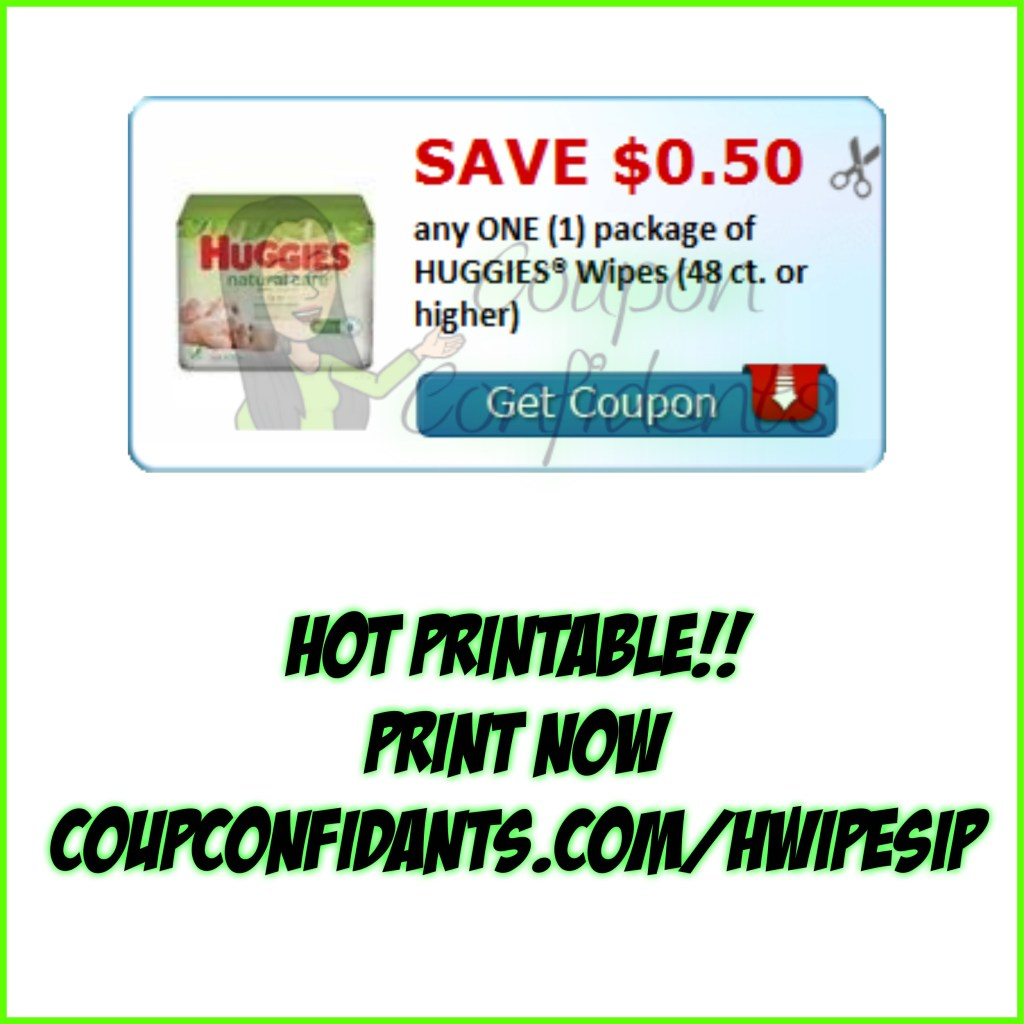 Huggies Wipes Coupon! Print NOW!