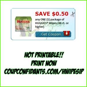 Huggies Wipes Coupon! Print NOW!