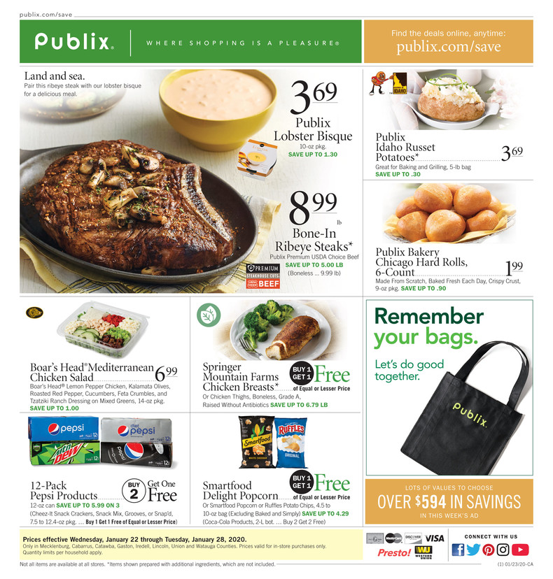 PUBLIX AD and deals too!