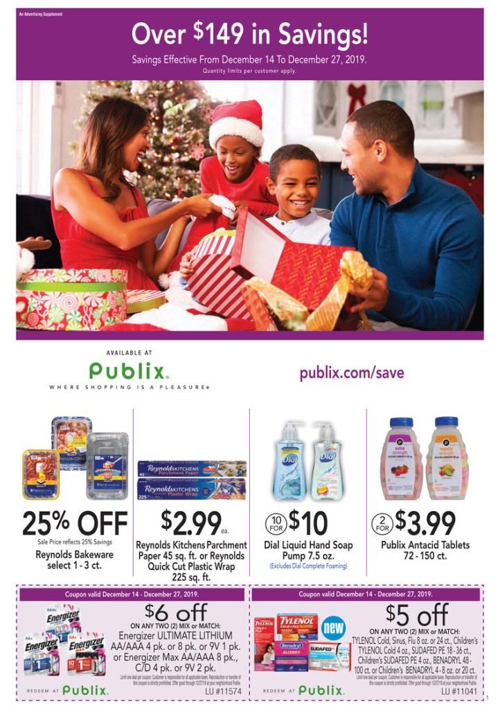 PUBLIX Purple Flyer AD and Deals too! Dec 14-27
