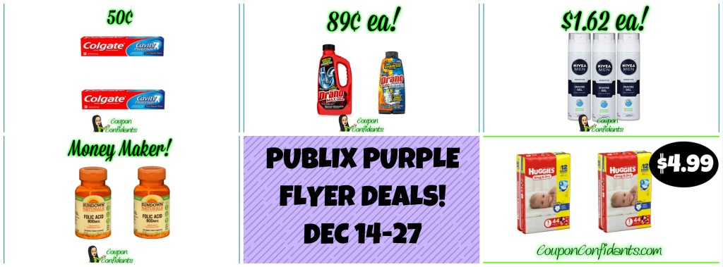 Publix Purple Flyer Deals Dec 14 – 27