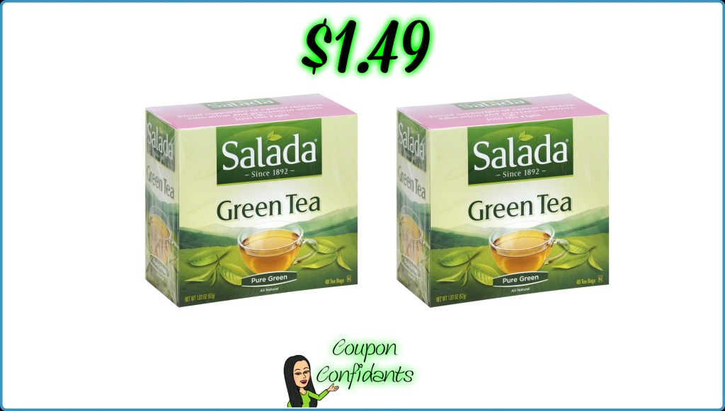 Salada Green Tea $1.49 at Publix!