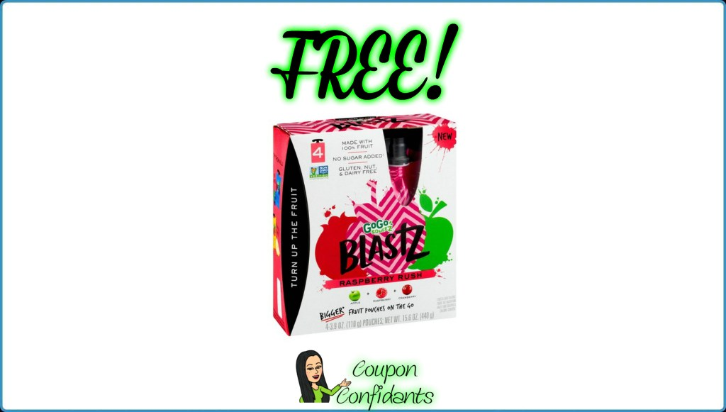 FREE GoGo Blastz at Publix! ANYONE CAN DO THIS DEAL!