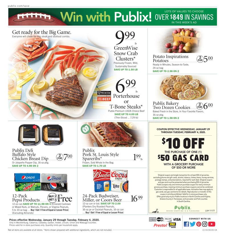 PUBLIX AD and deals too!