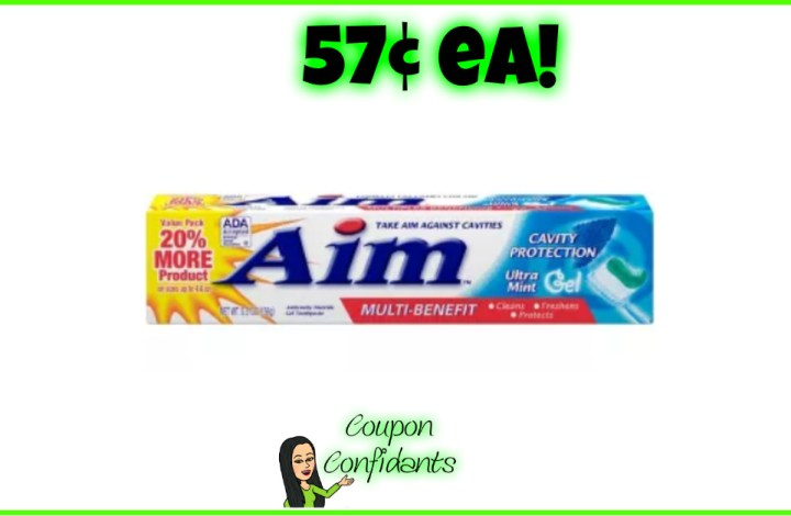 Toothpaste 57¢ at Target and ANYONE CAN DO THIS!