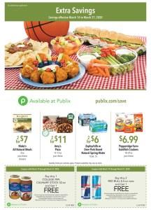 Publix Green Flyer AD! 3/14-3/27