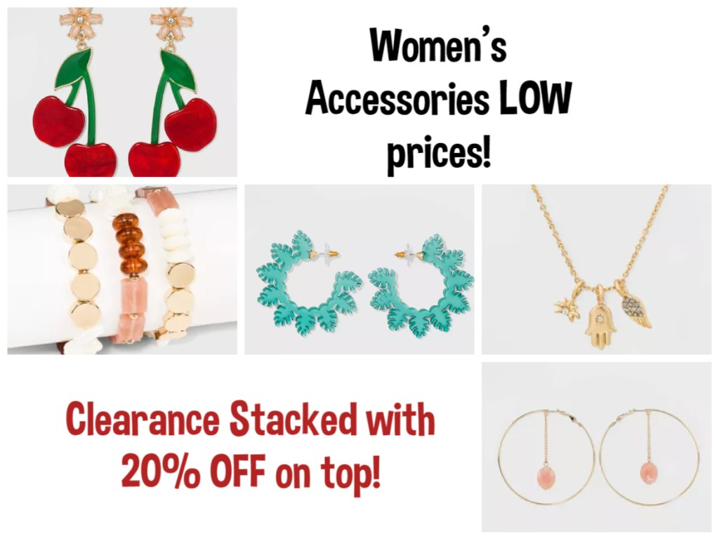 Women's Accessories – Clearance STACKED with 20% OFF! Target – ENDS TODAY!