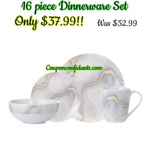 Dinnerware Set for four only $37.99!