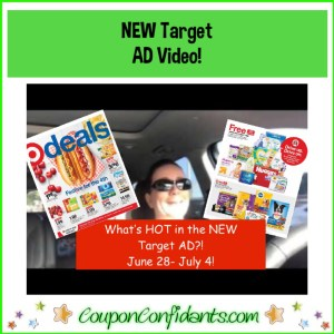 What's Hot in the NEW Target AD! June 28 – July 4 Video Version!
