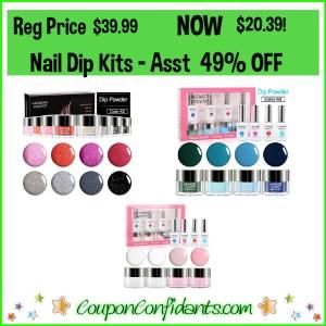 Nail Dip Powder Kits 49% OFF!!