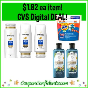 P&G Super Deal at CVS! $10.94 for SIX things! $1.82 each!