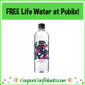 FREE Life Water at Publix!