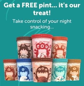 Totally FREE Nightfood Ice cream!