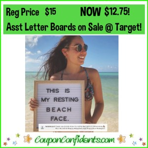 15% OFF Letter Boards at Target! These are so fun!