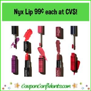 $0.99 Nyx Lip Color or Gloss at CVS!