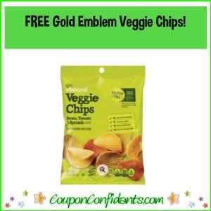 FREE Gold Emblem Veggie Chips at CVS! RUN!