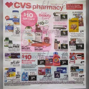 EARLY CVS AD! Sept 13-19!