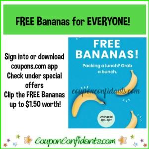 FREE Bananas for EVERYONE!