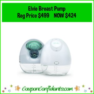 Elvie Breast Pump $75 BACK when you purchase NOW through Target!