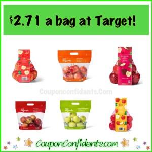 $2.71 ea bag of Apples at Target! Organic too!