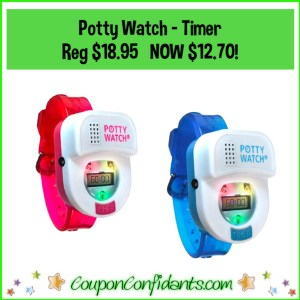 Potty Watch – Potty Training Watch with Timers! Reg $18.95 NOW $12.70!