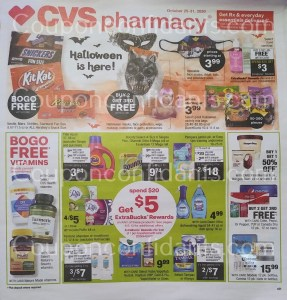 CVS AD Oct 25-31 WOW!