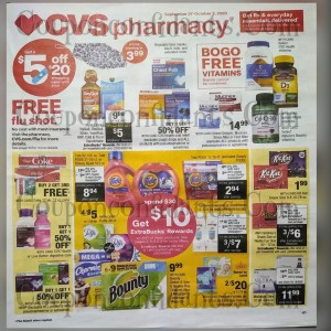 CVS SUPER Early AD September 27 – October 3!