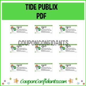 TIDE Publix PDF! HOT one for Tide Deal!!