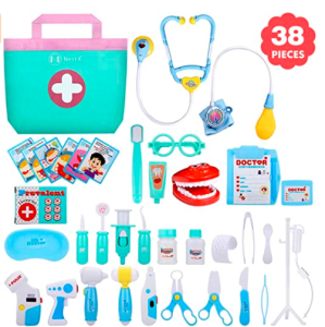 Toy Medical Kit – over 38 pieces! Was $49.99 NOW $19.09 60% OFF