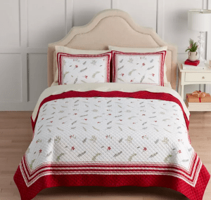 Holiday Quilt Was $259 NOW $51.99!!