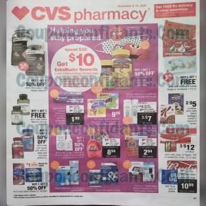 CVS EARLY AD!! Nov 8-14