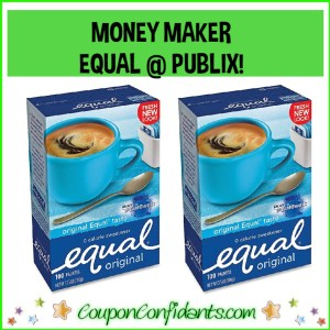 EQUAL MONEY MAKER AT PUBLIX!