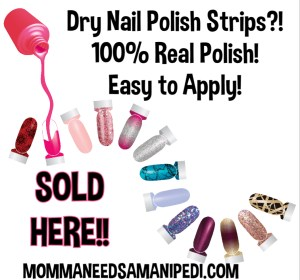 Dry Nail Polish Strips! Color Street!